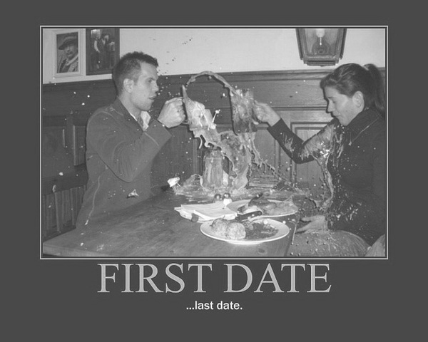 what not to do on a first date for guys
